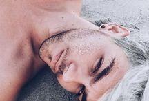Tumblr boy platinado grey hair