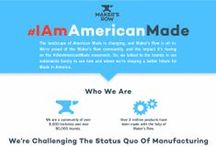 Maker's Row Infographics / A visually appealing collection of all the facts you need to know about manufacturing in the USA.  / by Maker's Row