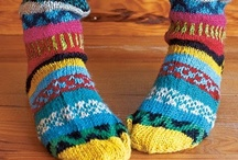 Knit Socks / Knitting inspiration and pattern links for socks. / by Kim