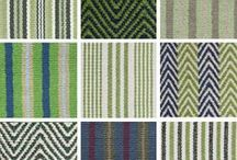 Hook & Loom Cotton Rugs / Our cotton rugs are hand-made using colored yarns created from recovered textile fiber.  They are 100% dye-free, chemical-free, and latex-free.
