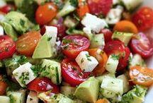 Salad Recipes / Lettuce Salad, Meat Salad, Fruit Salad, all salads