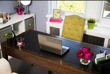 I Love Organized Home Offices / Home offices are very popular today, so make yours a beautiful and functional space you want to be in every day. Call (917) 703-4033 or email ILoveOrganizedSpace@yahoo.com to get organized!