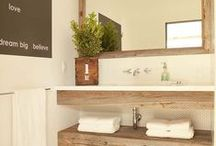 CLEAN lines / Our small apartment sized bathroom needs an overhauling, and the more minimalistic the better...