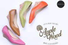 Nortia Shoes / Women's Fashion shoes crafted with 100% real leather and high quality handmade