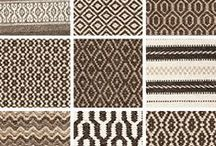 Hook & Loom Wool Rugs / We weave all of our wool rugs with natural undyed yarns, in the colors of sheep. We use no chemicals or latex, making them safe and healthy for indoor use.