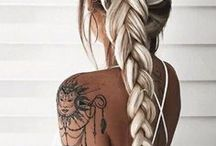 H A I R / ~ braids ~ curls ~ buns ~ plaits ~ beachy waves ~ ponytails ~
