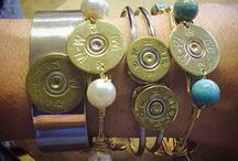 SRD Bullet Bracelets / Charm your arm with our fabulous handmade shotgun shell and ammo bracelets!!!! Shotgun Shell Jewelry   Bullet Jewelry   Ammo Jewelry
