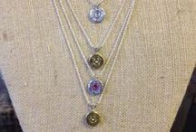 SRD Bullet Necklaces / Handmade shotgun shell and bullet necklaces to grace your neck!  *Shotgun Shell Jewelry   Bullet Jewelry   Ammo Jewelry*
