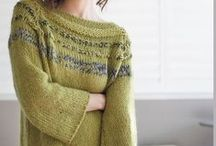 Knitting cardigans / wool wool and more wool