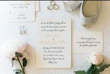Paper + Invitations / Artful invites, magnificent menus, and other beautiful paper products!