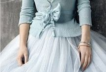 Tulle skirt inspo / Inspiration for outfits utilizing a tulle skirt.