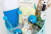 Welcome Gifts + Favors / Wedding favor ideas!