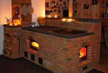 Masonry wood heaters and ovens. / Wood heating and cooking.