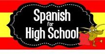 Spanish for High School / A collaborative board for high school Spanish teachers.  Share your favorite resources and ideas here!   If you would like to join, please follow me then send me your Pinterest URL to spanishtheeasyway123@gmail.com.