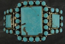 Turquoise / Turquoise reverberates through art, handcrafted jewelry, and life's colors.