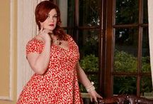Red White 'n' Retro / Bold prints and sweet retro styles to sass up your wardrobe!  #cherryvelvet #plusfashion #dresses #plussizepinup #pinup #retro #vintage #plus #pinupgirl #red #white / by Cherry Velvet