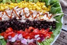 Salads / Gorgeous and delicious salads!   / by Glorious Treats