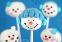 Snowmen Cuteness!   / Sweet and crafty snowman (or snowgirl) projects / by Glorious Treats