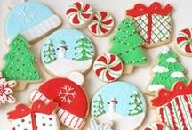 Decorated Christmas Cookies / Beautiful decorated Christmas cookies / by Glorious Treats