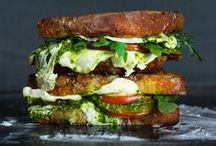 Sandwich Good Eats / MMM.  The Sandwich.  Need I say more?  The magic that happens when surrounded by two mere pieces of bread. / by Carey Pace