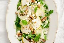 Salad Good Eats / sometimes all that will do is a nice, crisp salad on a hot summer day / by Carey Pace
