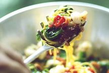 Noodle Pasta Good Eats / I say a life without noodles is a life missing out! / by Carey Pace