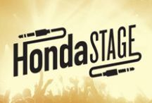 Honda Stage / An up-close look at #HondaStage. The place where Honda's passion for music comes to life, with a ton of live shows and music content, including the Honda Civic Tour.