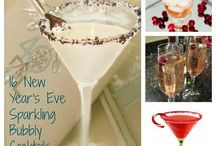 New Year's Eve / Anything New Year's Eve related. Drink recipes, traditions, food recipes, kids crafts, kids activities, decorations, printables, photo booth props.