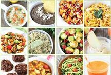 Healthy Eating / Fresh and nutritious meals and treats