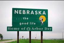 Nebraska the good life/ Go Big Red / by Katrina Johnsen (Wendell)