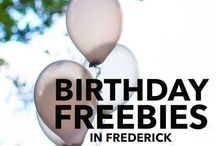Free! / Anything related to free! Free meals, free activities, birthday freebies, buy one get one free (BOGO).