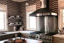 Cozinha / Ideias criativas e aconchegantes para decorar a cozinha.