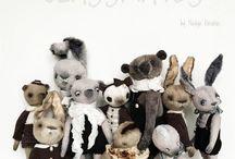 Teddy Bears & Dolls by Nadya Karabas / My Teddy Bear and their friends