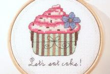Cross Stitch ☆ Sweet Treats / ......Patterns and Inspirations...... / by MeK