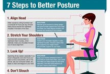Good Posture / Tips and tricks for improving posture - from Advanced Healthcare - 630.260.1300