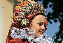 České a moravské kroje/ Czech and Moravian traditional costume