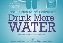Benefits of Drinking Water / A board dedicated to educating people on the benefits of drinking water!