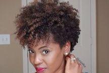 Textured cuts / fierce cuts on curls