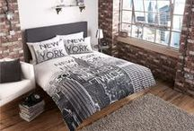 New York | B&M / Why spend hundreds of pounds flying to New York when you can have the Big Apple in your own home? Give your home a touch of the big city with wallpapers, duvet covers, cushions and soft furnishings inspired by the 'City That Never Sleeps'.