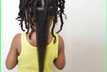 Natural Hairstyles for Kids / Curls are especially for little girls! Scroll through this board for the latest and the best in children's haircare..! See more at www.craving yellow.com / Instagram: @cravingyellow