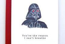 Love Message | Cards / Ispirazioni per un biglietto di auguri un pochino meno romantico ma sicuramente divertente per dire ti amo (non solo a S.Valentino).