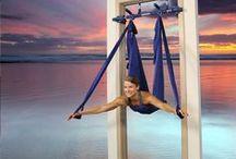 Gorilla Gym Yoga / Try our yoga swing!