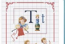 cross stitch characters