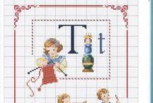 cross stitch characters