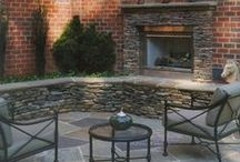 Fireplaces (Indoor and Out) / Whether you are wanting to make your indoor fireplace a key feature of your home again or add one to your outdoor living area, Distinctive Remodeling would love to create whatever you can dream.