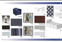 NM Interiors: Color Boards / Interior Design Color and Material Inspiration for Current and Completed Projects, Material and Furniture Presentation Boards, Color Scheme Options