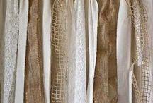Hessian burlap projects / Projects using hessian, burlap fabric