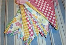 Bunting / How to make bunting for all occasions.