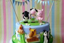 Birthday cakes / Birthday cakes, kids, sweets