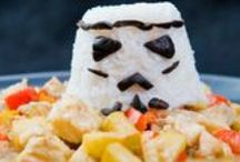 Star Wars / Wow your little Ewoks and impress your friends with these easy and tasty seafood Star Wars recipes